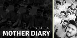 Visit to Mother dairy